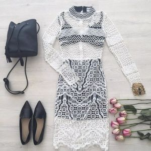Sabo Skirt Lace Dress